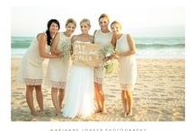 Beach Wedding / A beach wedding is fun and gorgeous with the most beautiful photos.