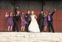Purple Wedding / If you love the colour #purple, then look at these  stunning ideas.