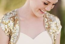 Glitter and Glam Wedding / Sometimes a bit of sparkle makes all the difference. If you like glitter, you will love these ideas.
