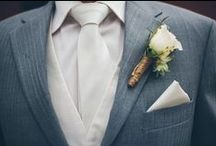 Boutonnieres / A boutonniere is  typically made from a single flower or bud. The word comes from the French word for buttonhole, which is the British term for a boutonniere.
