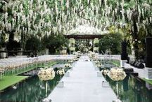 Green Wedding / The colour green makes you think of life and growth.  We adore this colour board!