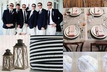 Nautical Wedding / Sailor inspired stripes and shades of blue!