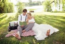 Picnic Wedding / A picnic wedding is the perfect affair for the nice summer days, and even the milder autumn days would be lovely. You can make it lots of fun without losing the romantic feel.