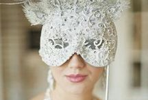 Masquerade Wedding / Its glamorous, fun, feathers and masks.Your guests can finally wear their  big ball gowns and you might even get some performers. We love masquerade weddings!