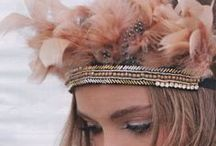 Bohemian Wedding / The bohemian fashion represented a lifestyle. Woman like Virginia Woolf were 20th century examples. It is a relaxed style that is often artistic and unconventional and still very romantic.