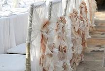 Wedding Chair Covers / There are many ideas for chair covers for your big day. Have a look at our top selection of cute, exciting and gorgeous covers and decorations.