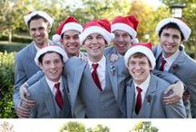 Christmas Wedding / Here are some fabulous ideas if you are getting married around Christmas time and you plan on having a Christmas themed wedding...