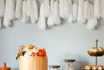 Just garland / Modern chic garland for home design, play areas and parties. This is all about DIY and shoppable garlands.