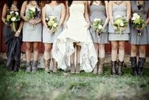 Wedding Boots / These Boots are made for Walking...