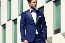 Men's fashion red carpet