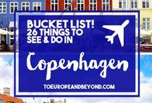 Denmark Travel Tips / This board covers tips on traveling to Denmark, including what to see, what to do, where to stay, and places to eat. Solo travel, couple travel, and family travel welcome.