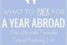 Neat Packing Hacks / The best tips we can find for packing for a trip, long or short!