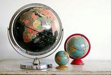 Globes / Amazing design objects / by Coki Milktoothrain