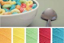 // Colour Palettes / Colour combos.