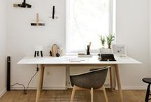 Workspace / Studio, desks and places where I'd like to work