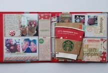// JYC / Journal my Christmas ideas layouts books photos and blog posts