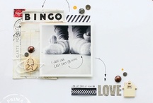 Scrapbooking / Pages de scrap source d'inspiration