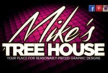 Mike's Tree House / Some flyers I've designed. / by Mike Walker