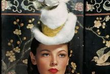 Hats & Headpieces / Hats are the punctuation in the poetry of fashion