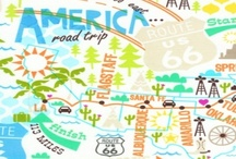 maps / art + products using maps... / by Patty Rybolt