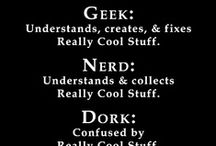 Geek / by Bobbi Bettger