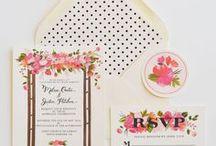 Wedding // Invitations / by Gemma Milly