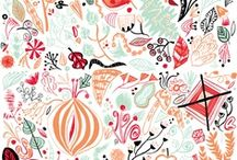 Illustration / Admiration of pretty designs and drawings.