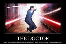Wibbly wobbly timey wimey...stuff! / Doctor Who? / by Blaire Shultz