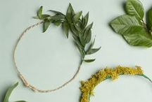 Create with Nature / Art and crafts using natural materials.  / by Ann Harquail (My Nearest & Dearest)