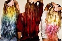 Fashion! Hair~ / Fun hairstyles, hair colors, updos, downdos, formal, informal, summer, winter! Hair hair hair! / by Tianna Ellis