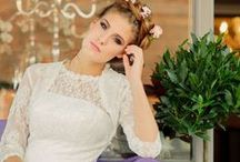 'Village Affair' collection by Kitty & Dulcie / Bridal designs under £400 available at www.kittyanddulcie.com