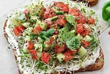 lunch and salad ideas / by Corinne Segreve