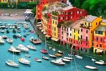 Colourful Cities / A collection of some of the most vivid places around the globe that will make you fall in love!