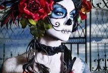 Halloween Bride / Make up looks for hauntingly Halloween brides.
