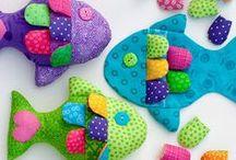 ✂️ DIY - STOF ✂️ / Free patterns with fabric