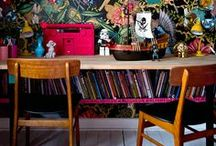 Home: Living Spaces / Interiors inspiration.