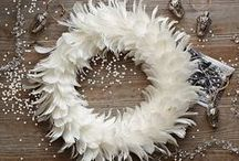 Hang me on! (wreath) / Welcoming and inviting, door decor- is the first thing that visiting guests see.