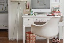 Rooms for Working / Home Art studio spaces Home Office spaces Home Crafts room / by Nicola Jeanette