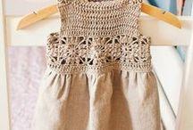 Vestido tejido niña
