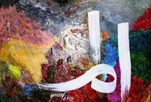Arabic Calligraphy / by Karissa Tucker