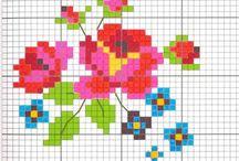 Cross stitch patterns   Kruissteekpatronen