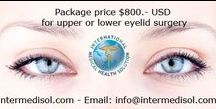 Upper-lower-eyelid-cosmetic-surgery-Thailand / upper or lower Blepharoplasty in Bangkok cost $ 800.- USD include; Medical Equipment & Supplies     Medical Treatment     Doctor fees     Nursing service     Take home medication     Post op cares