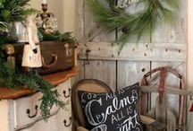 Holidays / decor ideas for Christmas.
