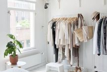 closets + merching at home / by Regina Moomjean