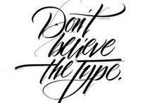 Typography / type design that inspires me. typography   font   type   graphic design   lettering   calligraphy   handwriting   fontography