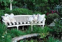 Garden - Benches, Seats & Swings / by Sandy Hilliard