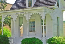 Garden - Arbors, Sheds, Potting Benches, Etc / by Sandy Hilliard