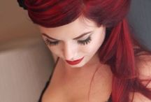 hOt  HoT  Redheads... / Betcha always wanted to try RED...here's some inspiration! / by Rhonda Halliday