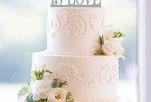 Wedding Cakes / Wedding cake ideas almost too elegant and unique to eat.