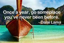 Pinspiration / Your dream travel destination is never too far from reach.